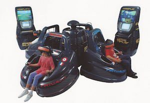 Virtual reality was finally stirring consumer interest with the release of VR arcade games in 1991.