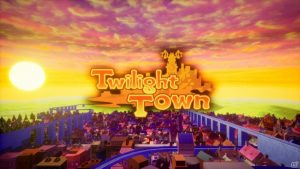 A glimpse of Twilight Town