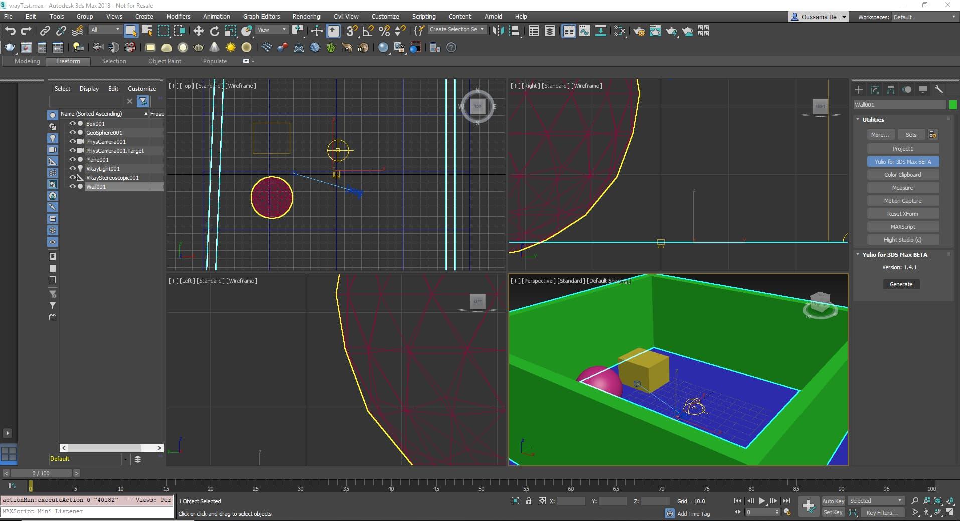 3dsmax Plugin | Yulio VR