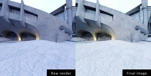 Final image of rendering